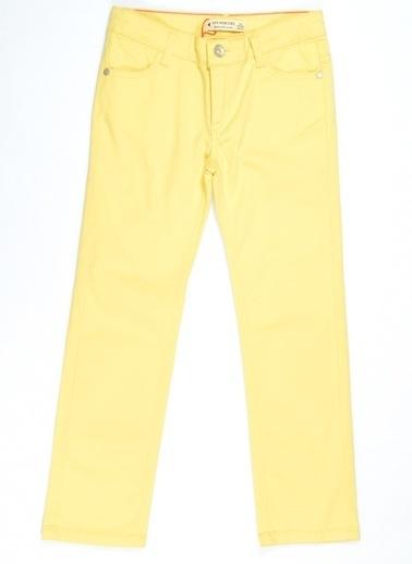 Asymmetry Pantolon Sarı